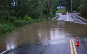 On 8/27/2011, the remnants of what was once Hurricane Irene swept through the Hudson Valley. Multiple fire departments responded to storm related calls. The Good-Will Fire Department responded to numerous hazardous conditions for two days. These photos show the flooding in some areas of the district.