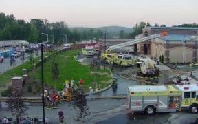 2-Alarm Structure Fire 1-26-2006