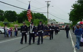 Members of Good-Will joined fellow Town of Newburgh fire departments in the annual Memorial Day parade in 2004.