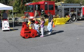 The Good-Will Fire Department was joined by the Middlehope and Coldenham Fire Departments in Fire Prevention Day at Price Chopper at the Mid-Valley Mall on Saturday, October 11, 2008. (Photos by Dee Bender)