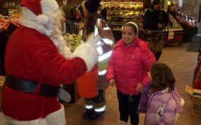 On Sunday, December 20th, 2009, members of Good-Will escorted Santa Claus through the district to visit all of the children and pass out hundreds of candy canes. The fire apparatus made stops at local residences and businesses. Santa then visited the friends and relatives of Good-Will members during the annual Christmas party. (Videos and photos by John Gaudioso, Jr.)